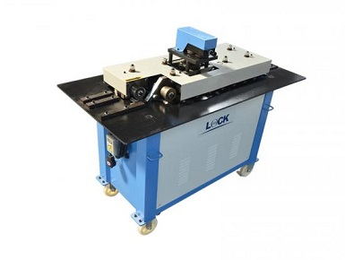 Metal sheet lock forming machine