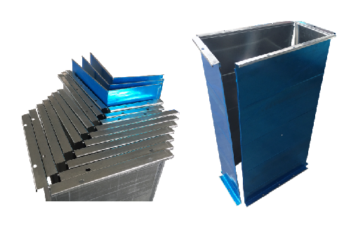 Square HVAC air duct auto manufacture line