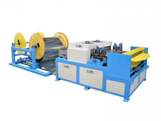 HVAC manufacturing machine line