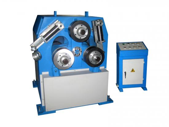 Angle steel forming machine