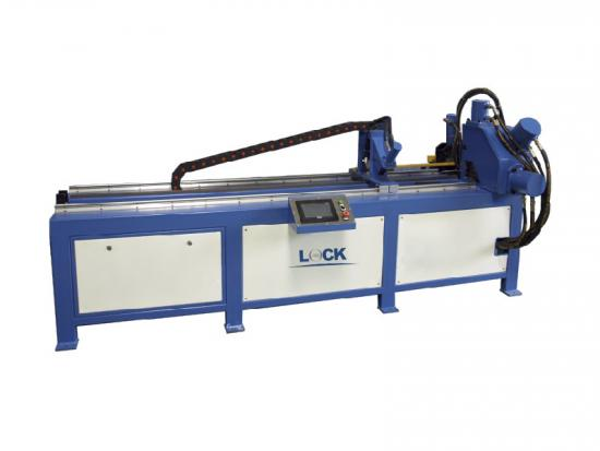 Steel angle punching machine