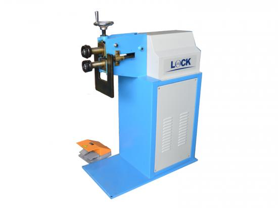 Round duct beading machine