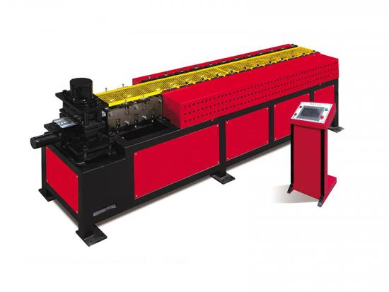 Fire damper blade rolling forming machine