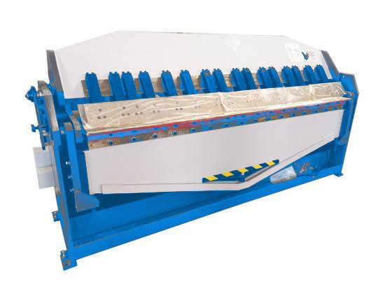 HVAC folding machine