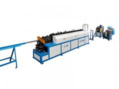 C shape forming machine