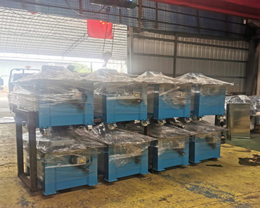 Lock forming machine loading to Peru